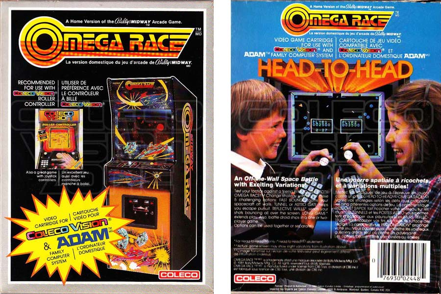 Game Of The Year >> Colecovision Zone Omega Race